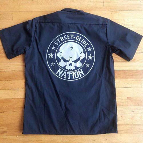 Street Glide Nation Mechanics Shirt (Black)