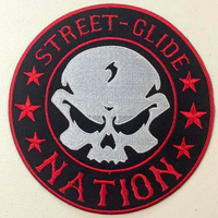 Street Glide Nation Round Patches