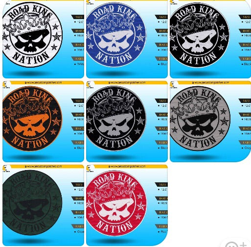 Road King Nation 12 inch Patch (pre-order)