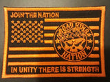 Road King Nation Flag Patches