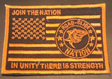 Road Glide Nation Flag Patches