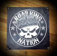 24x24 inch Road King Nation Vinyl Banners