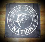 24x24 inch Road Glide Nation Vinyl Banners