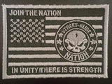 Street Glide Nation Flag Patches