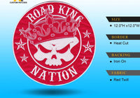 Road King Nation 12 inch Patch