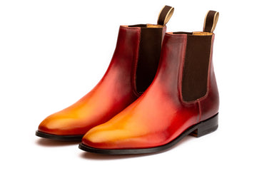 Chelsea Boot - Fire Patina