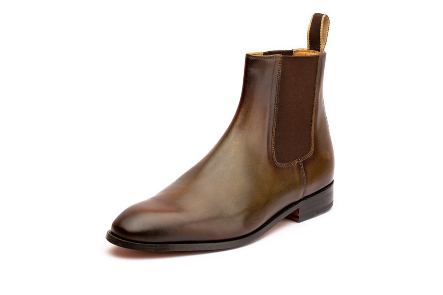 Chelsea Boot - Forest Patina
