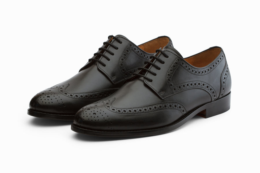 Wingtip Brogue Derby - Black