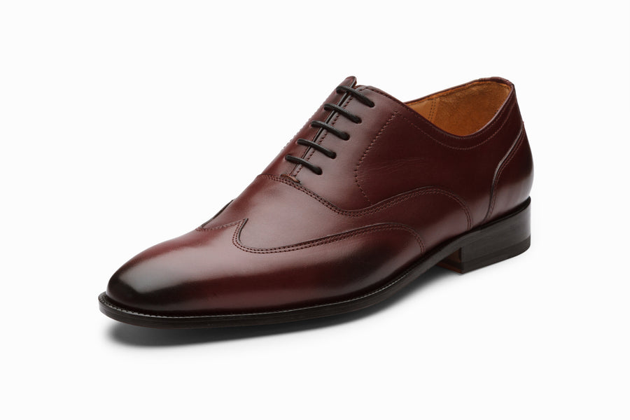 Austerity Brogue Oxford - Burgundy