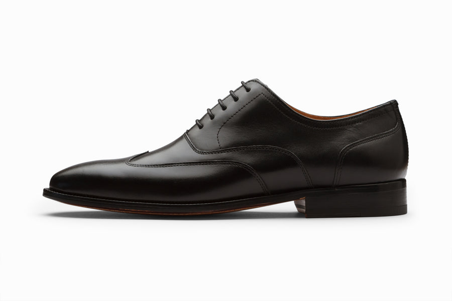 Austerity Brogue Oxford - Black