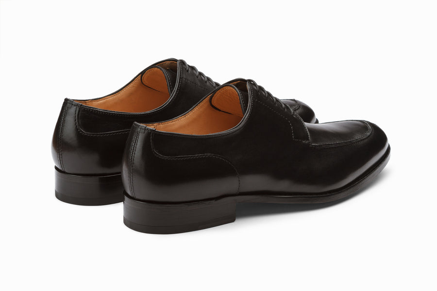 Split Toe Derby - Black
