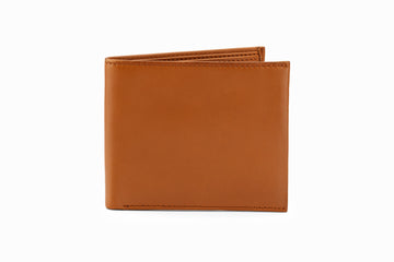 Slim Leather Wallet - Tan