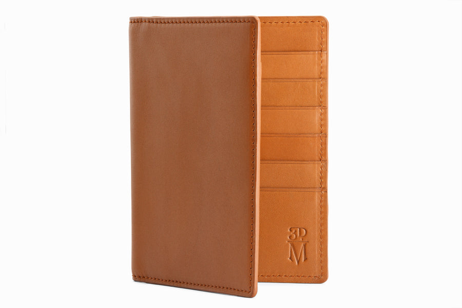 Passport Leather Wallet - Tan