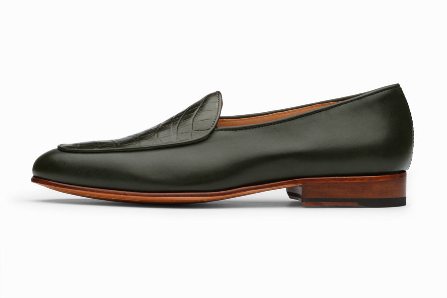 Belgian Loafers-  Loden