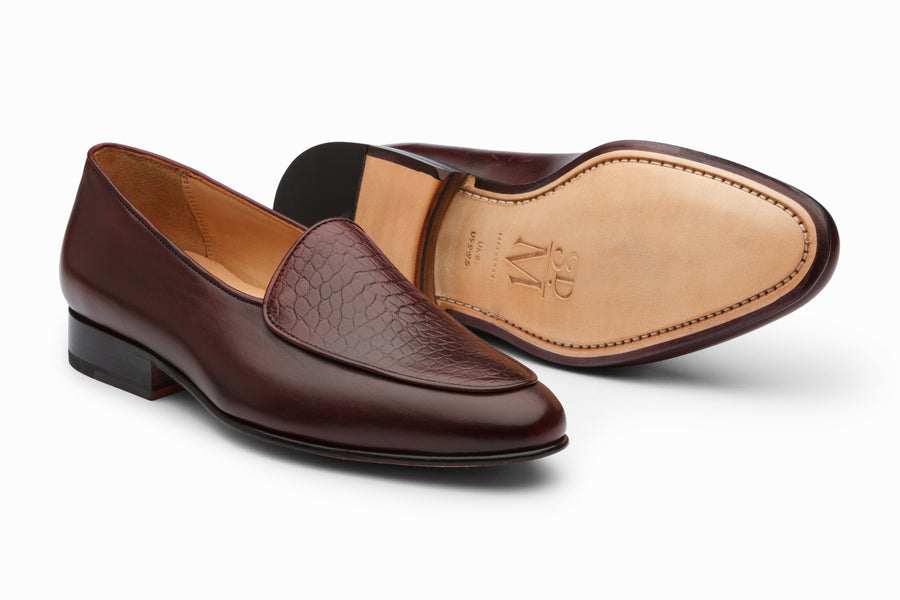 Belgian Loafers-  Oxblood