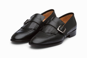 Fringe Loafers - Black ( US 8 & 9 Only )
