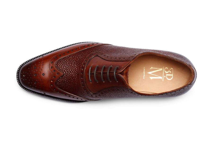 Wingtip Oxford Brogue - Sequoia Grain