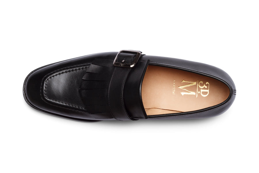Fringe Loafers - Black