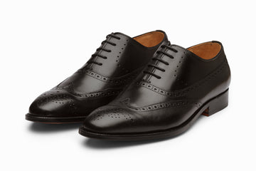 Wingtip Oxford Brogue - Black