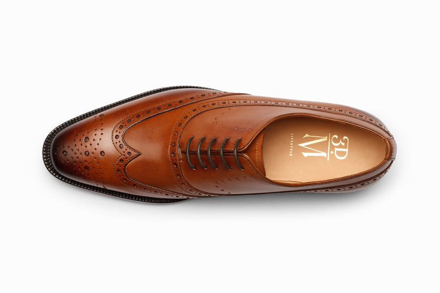Wingtip Oxford Brogue - Tan