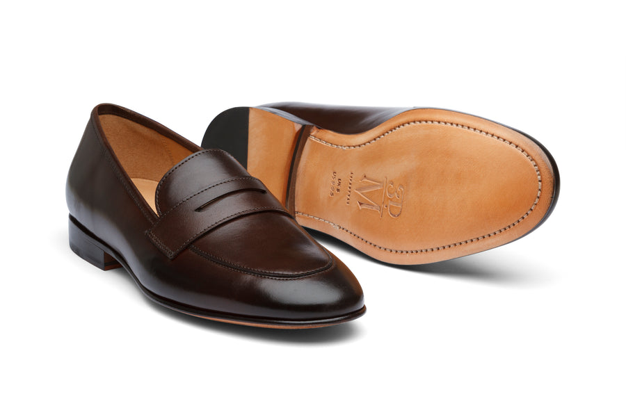 John Penny Loafer - Dark Brown