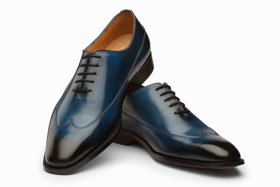Wingtip Oxford - Blue Patina