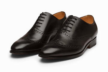 WINGTIP OXFORD - BLACK