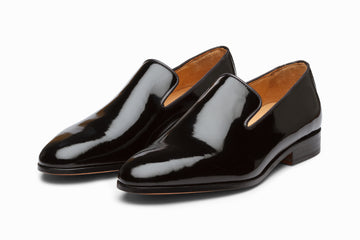 Venetian Loafer - Patent Black