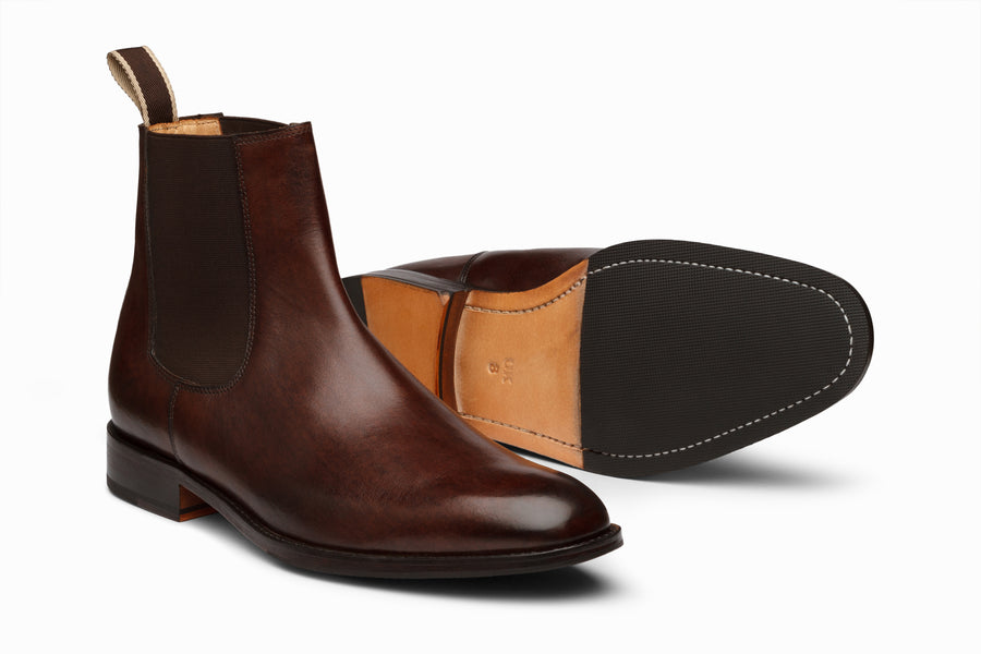 Chelsea Boot - DARK BROWN