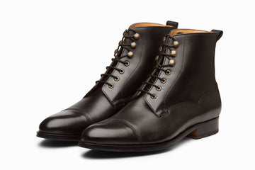 Balmoral Derby Boot - Black