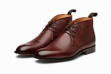 Chukka Boot - Burgundy Grain