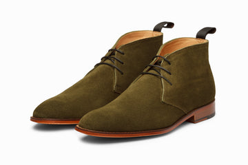 Chukka Boot - Olive Suede