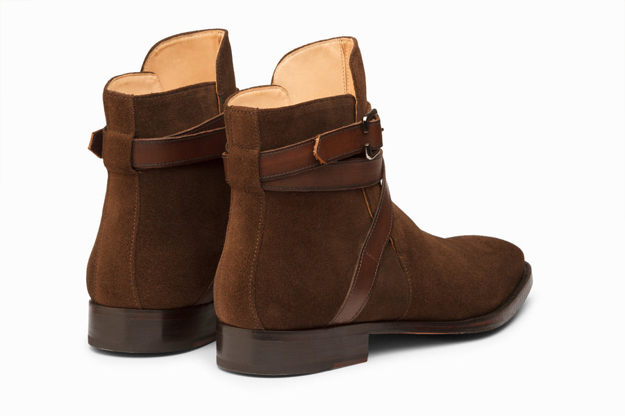 Jodhpur Boot - Dark Brown Suede