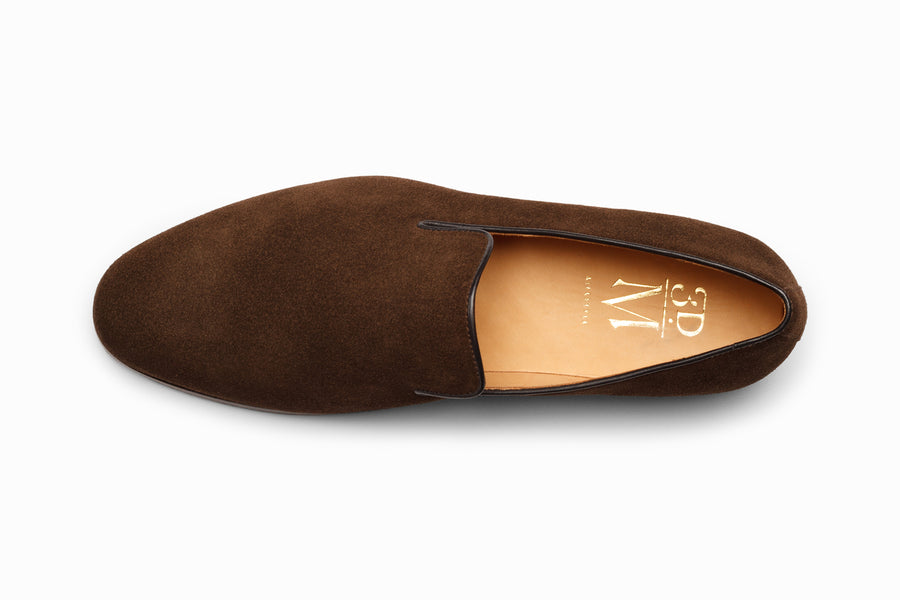 Venetian Loafer - Brown Suede