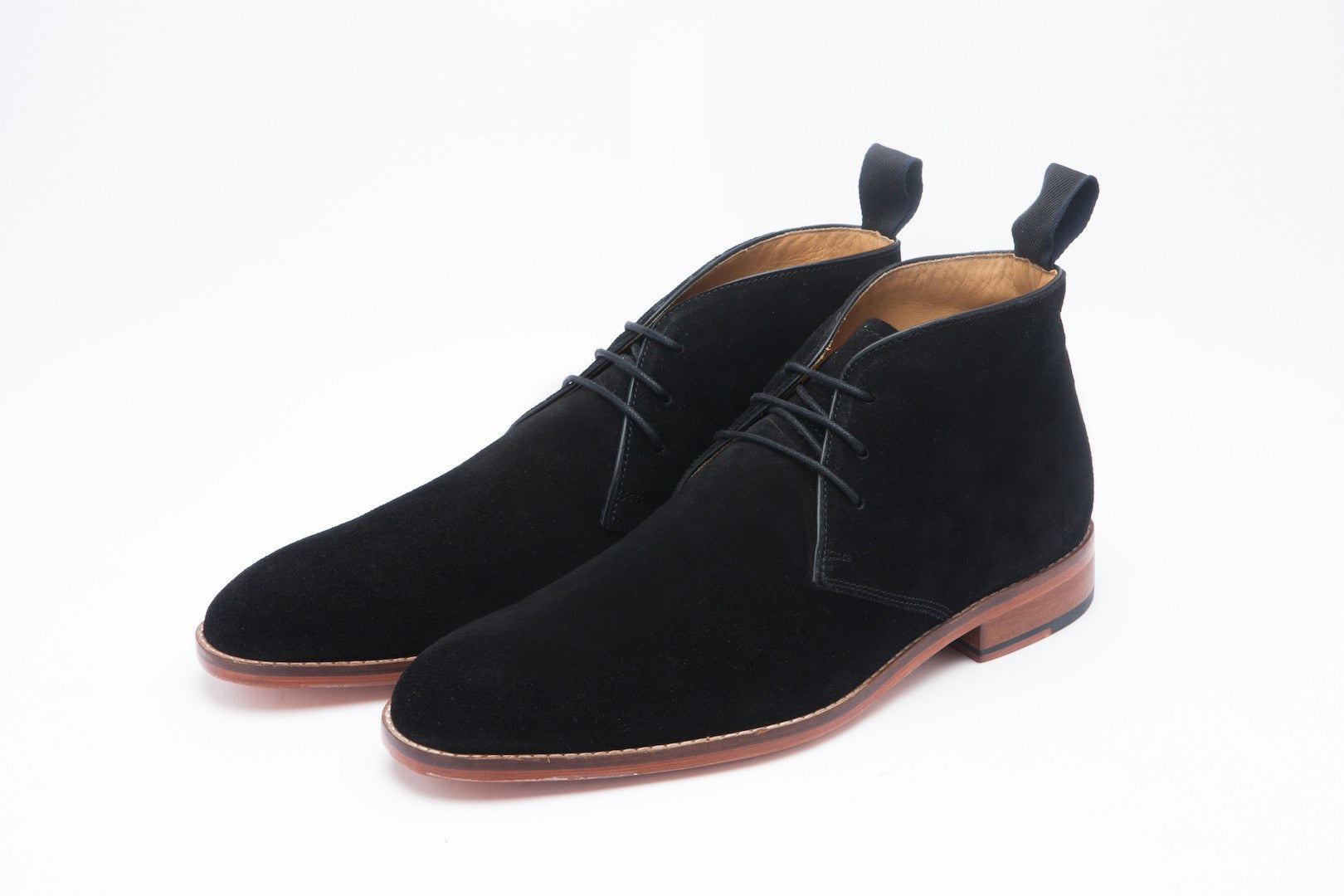 Boots - Chukka Boot - Black Suede