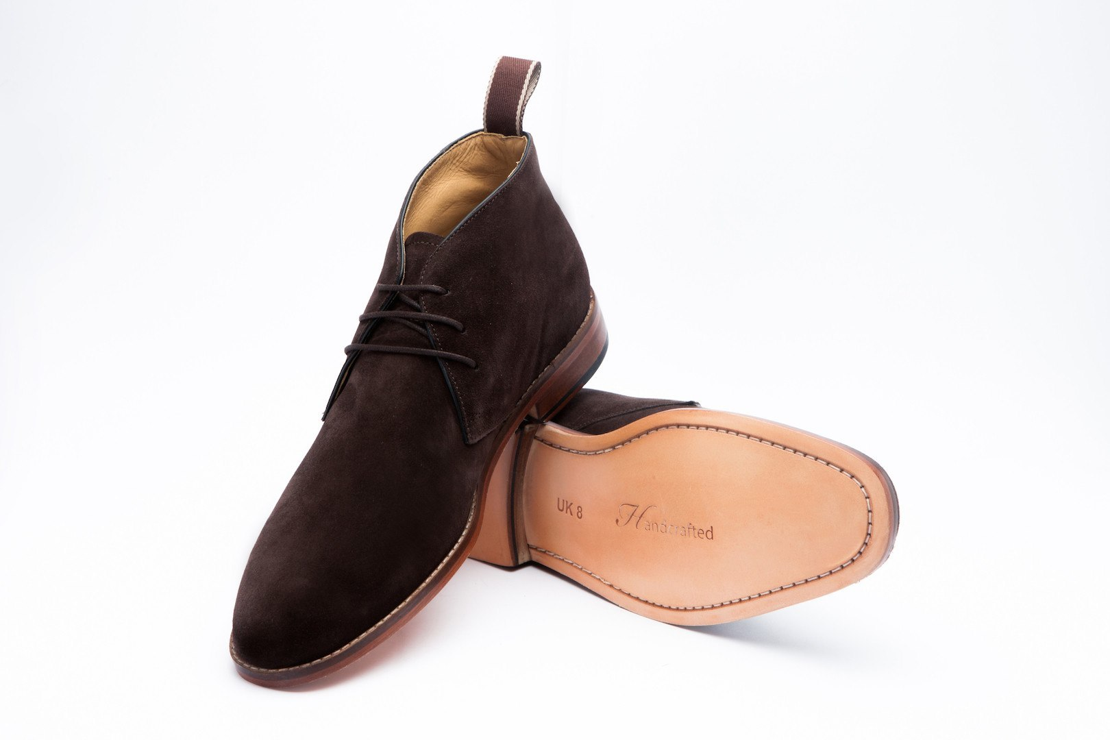 Boots - Chukka Boot - Brown Suede