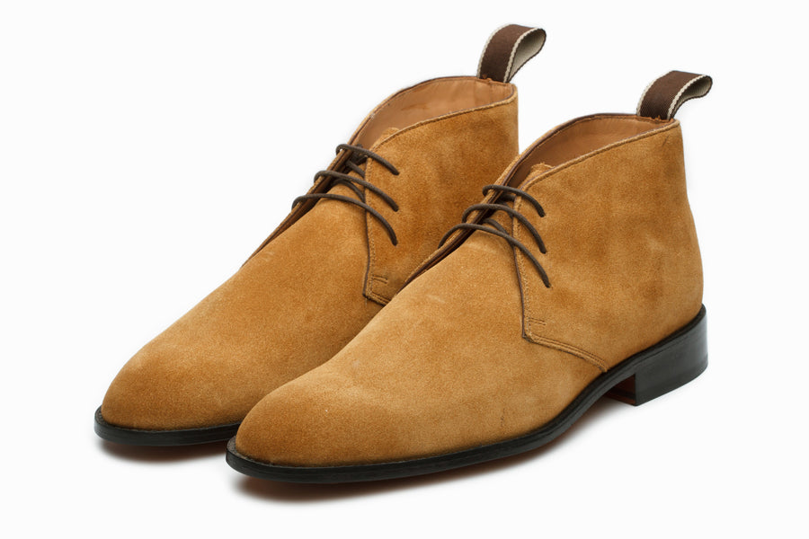 Boots - Chukka Boot - Camel Suede