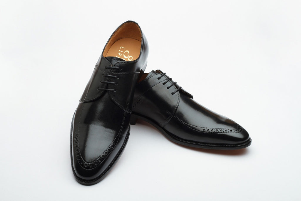 Derby - Brogue Derby - Black