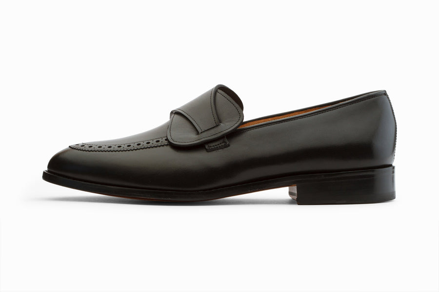 Loafers - Butterfly Loafers - Black