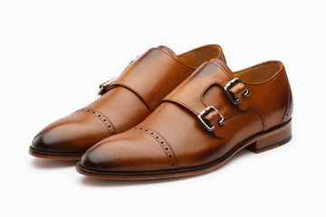 Monkstraps - Double Monkstrap - Tan
