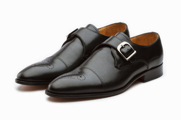 Single Monkstrap - Black