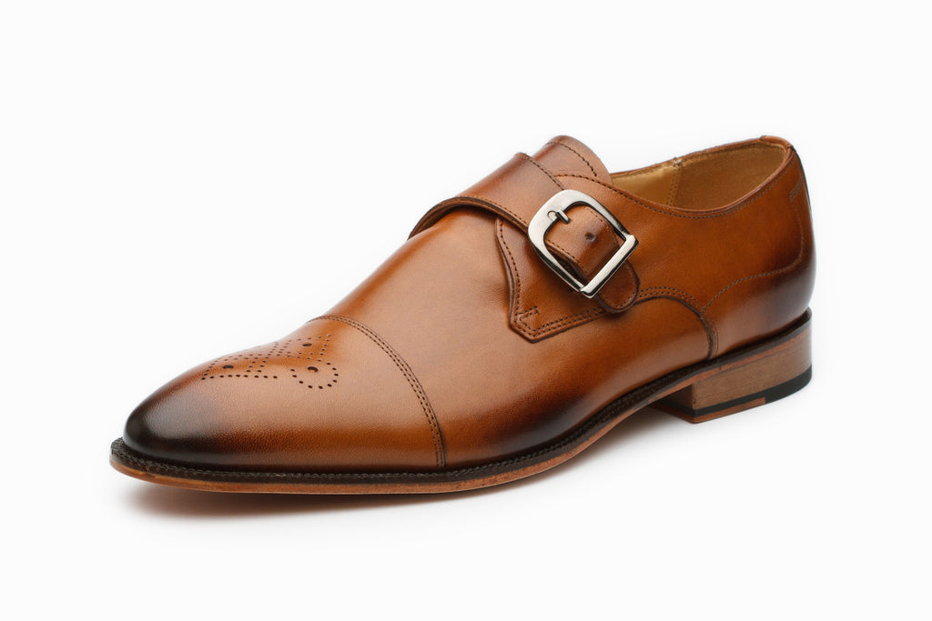 Monkstraps - Single Monkstrap - Tan
