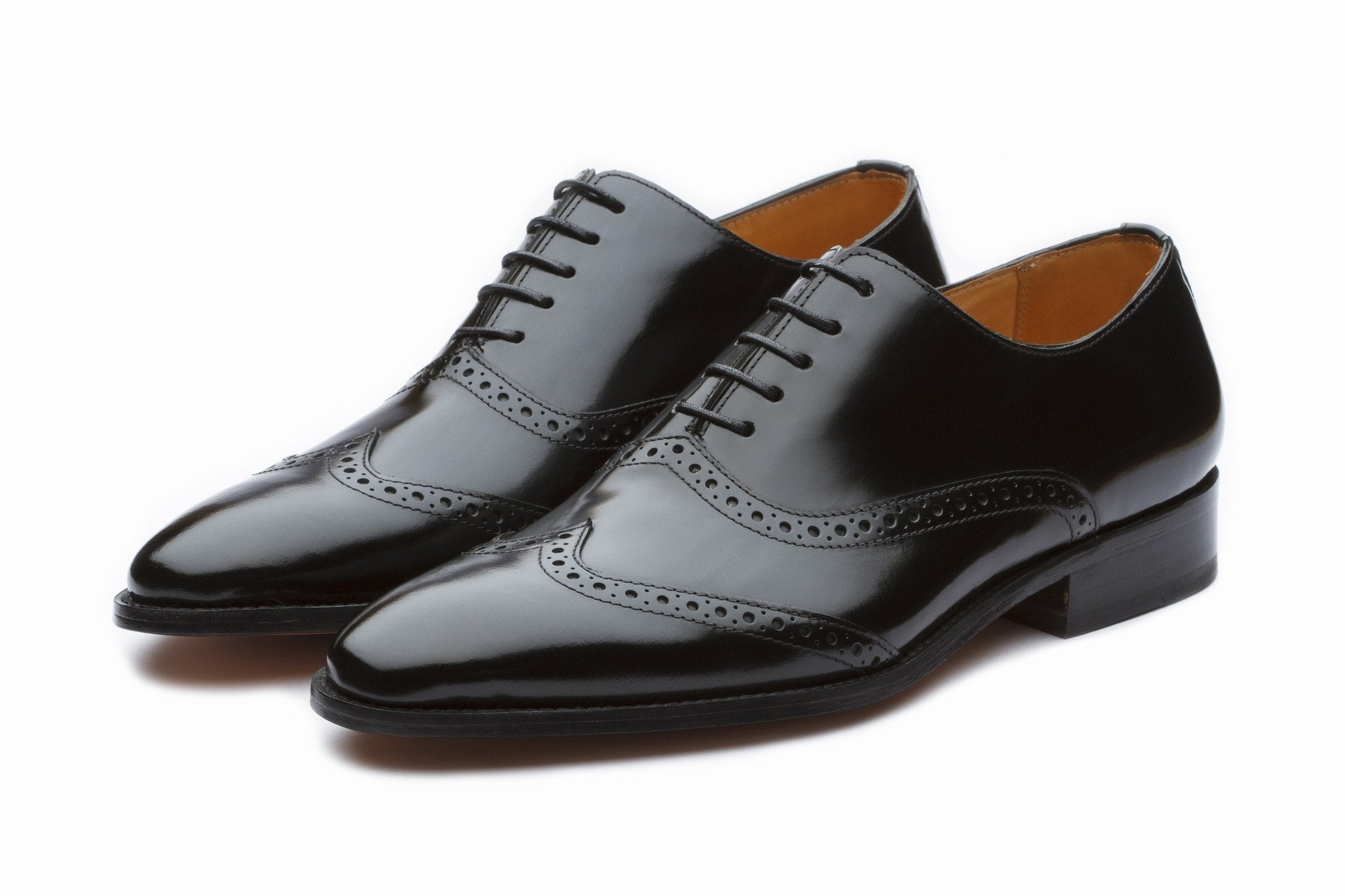 Oxfords - Black Wingtip Oxford