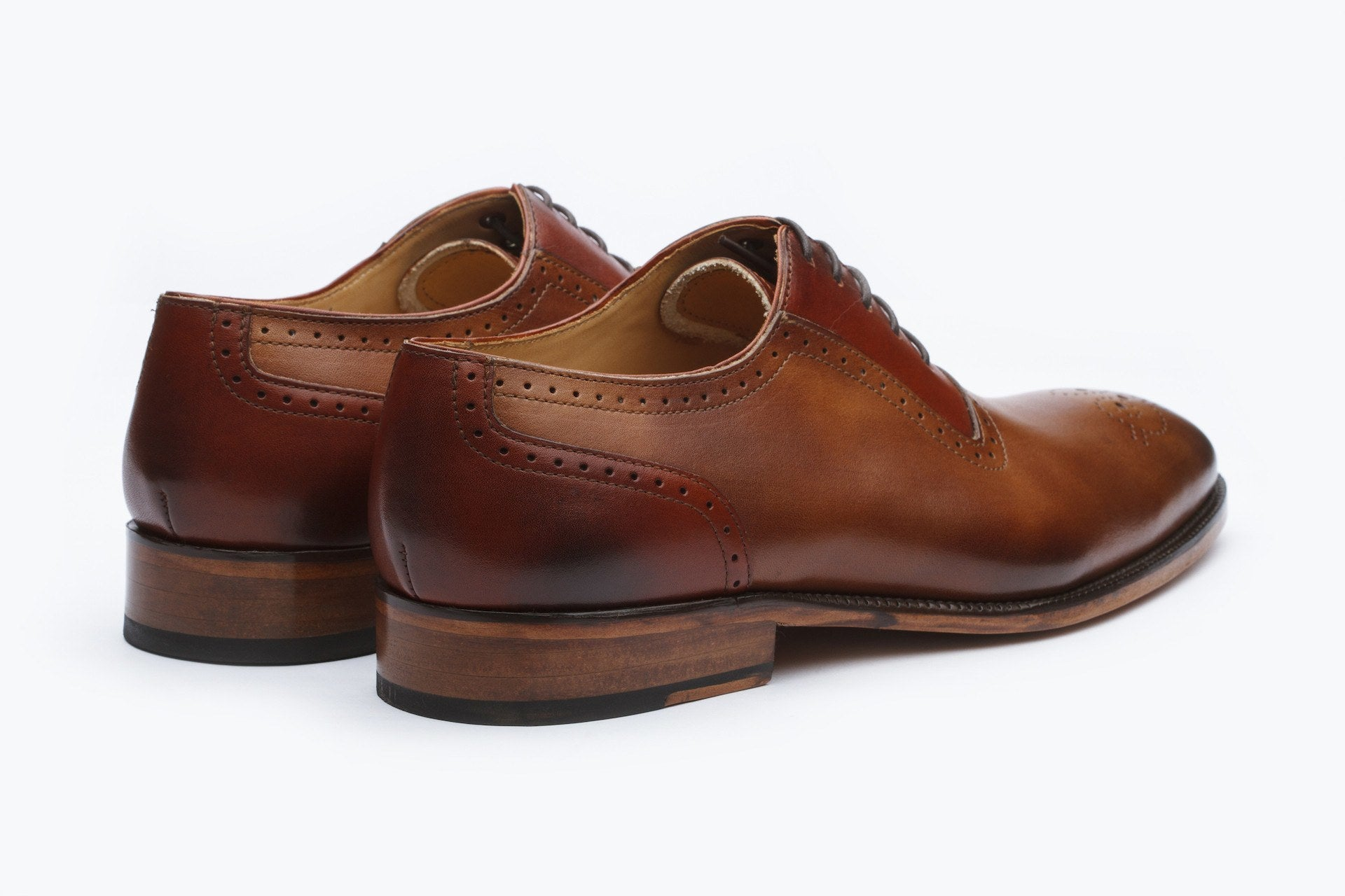 Oxfords - Medallion Perforated Oxford
