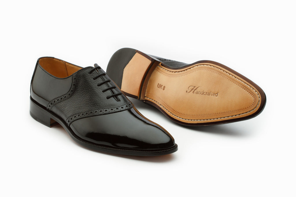 Oxfords - Patent Leather Saddle Oxford