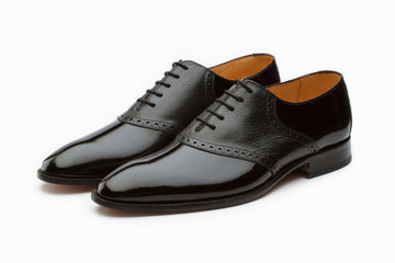 Patent Leather Saddle Oxford