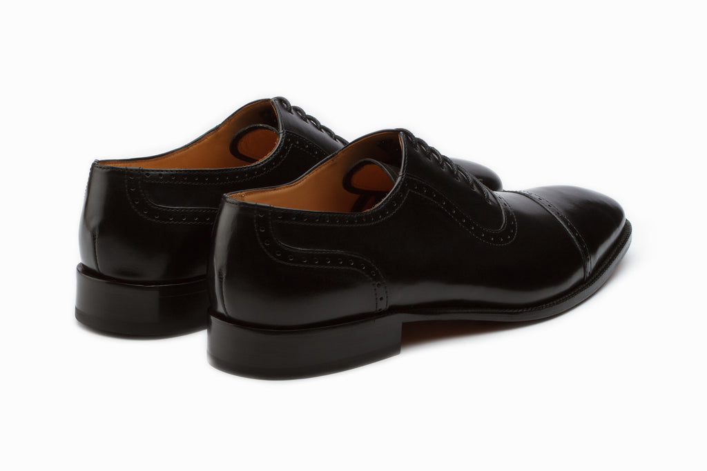Oxfords - Semi Brogue Oxford - Black