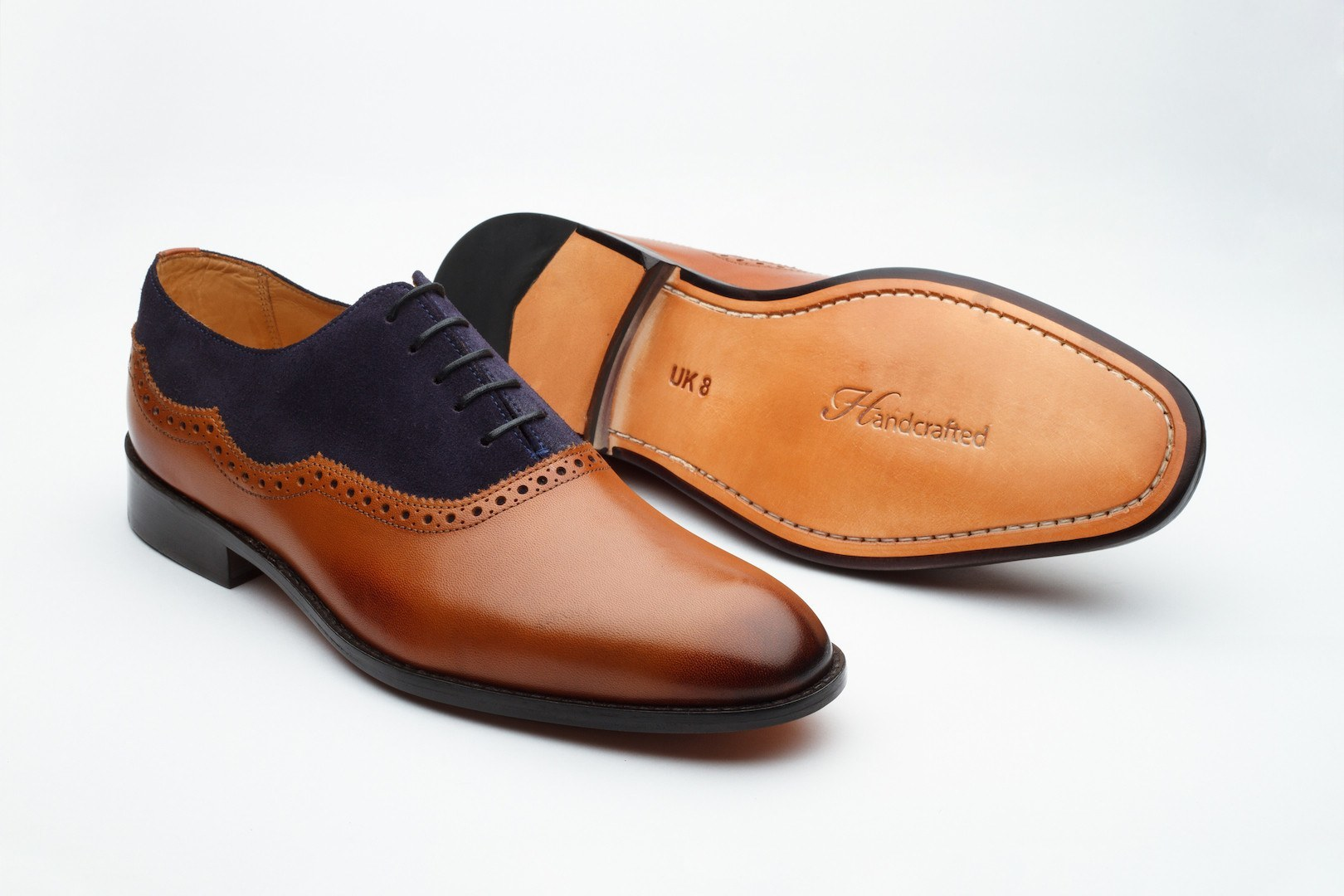 Oxfords - Suede Combination Oxford