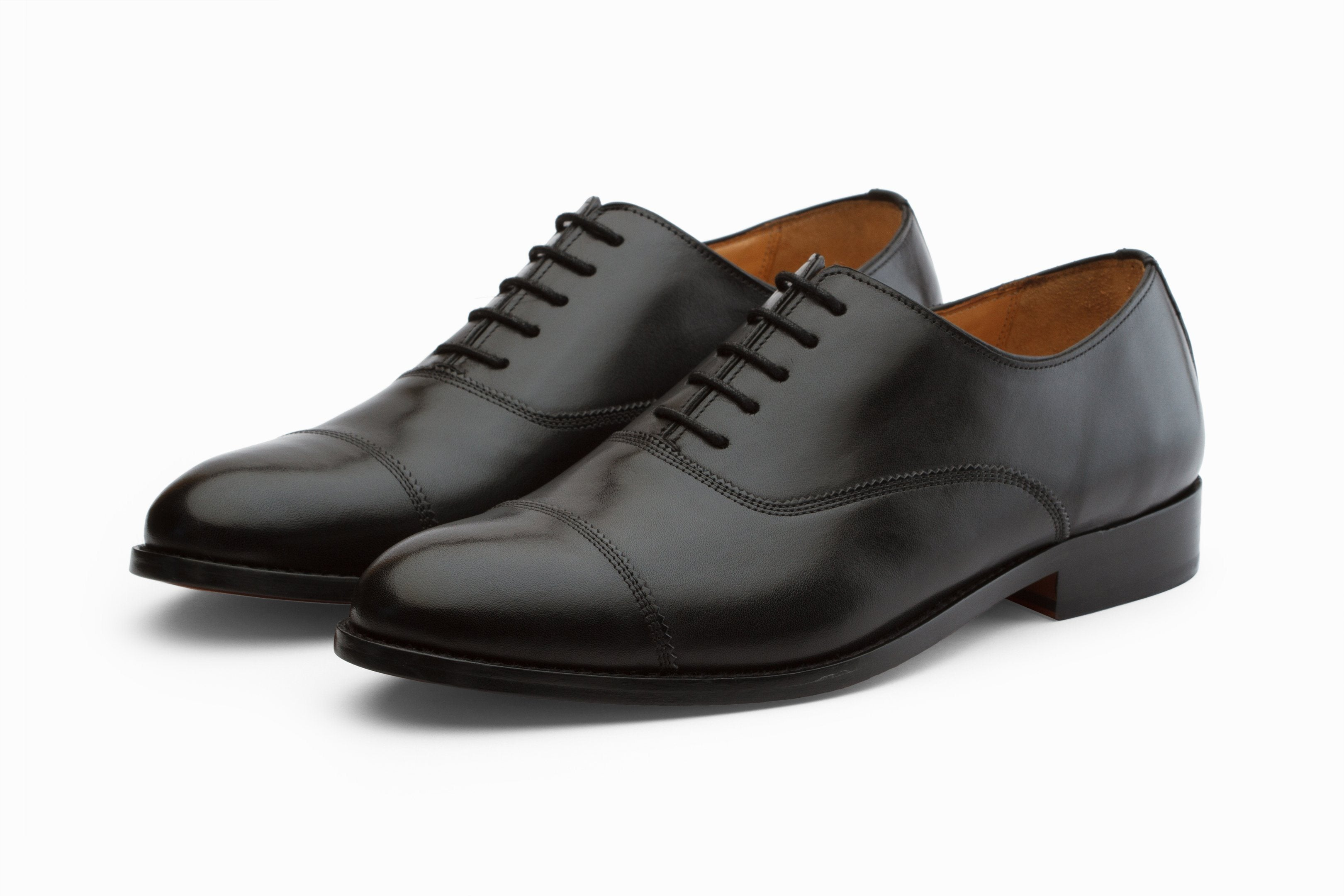 incredible prices delicate colors choose clearance Triple Stitch Cap Toe Oxford - Black