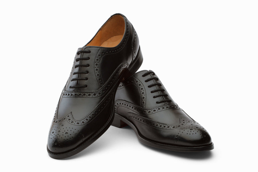 Oxfords - Wingtip Brogues - Black